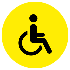 Icon for Disabled Supporters
