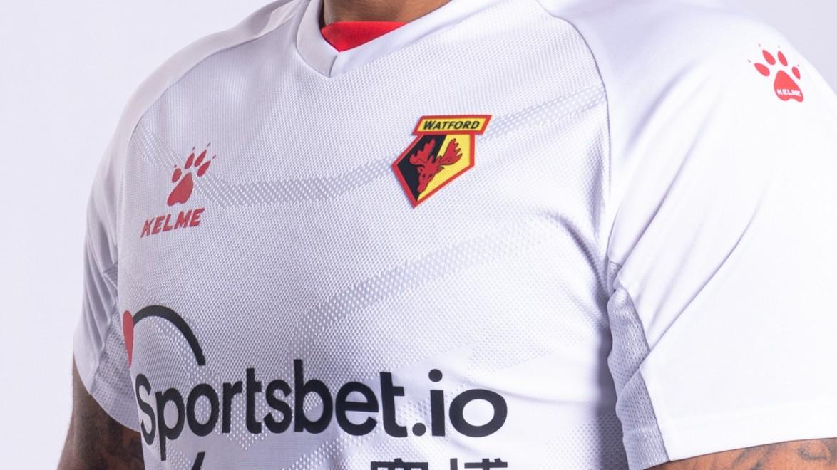 Watford FC Officiel Enfants Football détail Poly Sub Tee T-Shirt-New