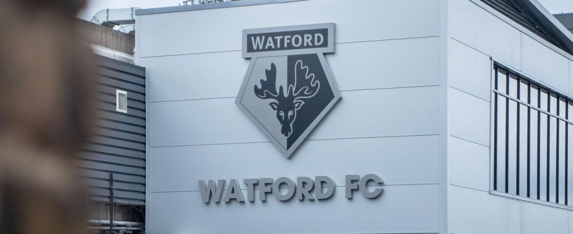 Official Licensed Watford F.C Flag